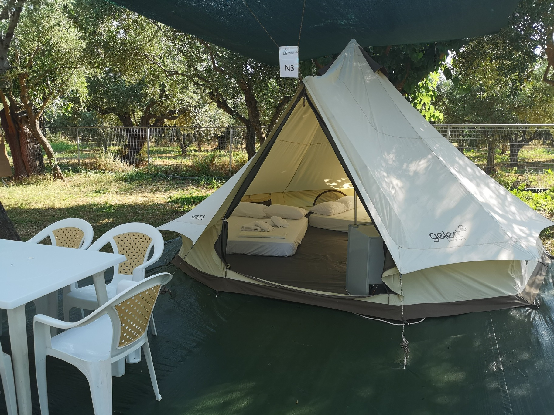 bell tents for rent